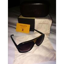 Óculos Lv Louis Vuitton Evidence Preto Novo Original Z0350w
