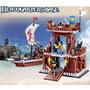 Lego Barco Pirata E Forte 431 Peças Quartel General Piratas