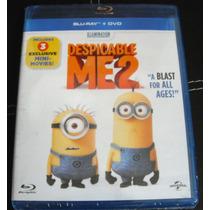 Mi Villano Favorito 2 Bluray + Dvd