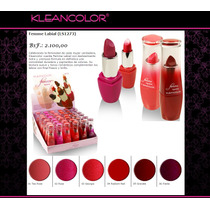 Labiales Kleancolor Femme Lipstick Maquillaje Mayor Y Detal