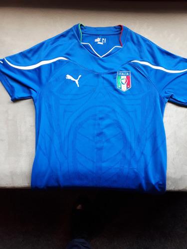 Camisa Itália Copa 2010 Original Puma - R  149 f8e29f41b27c3