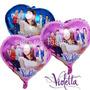 Globos Metalizados Violetta Kitty Pitufos Hanna Montana