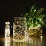 Guia De Mini Luces Led Luciernaga Navidad 2.3mts En Colores