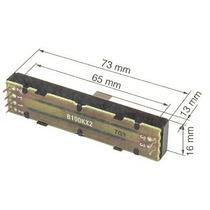 Potenciometro Fader Alpha 100 Kbx2 Mixer Behringer Ddm4000