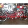 Bicicleta De Dois Lugares - Bicicleta Tandem De Duas Pessoas