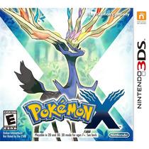 Pokemon X Nintendo 3ds Nuevo Blakhelmet Sp