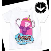 Camiseta Hora De Aventura Princesa Jujuba Adulto Infantil