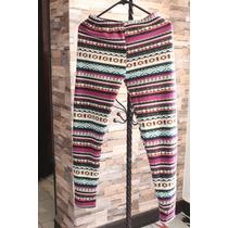 Pantalon Pijama Forro Tipo Peluche Diseño