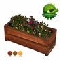 Vaso De Madeira Rustica Para Plantas Jardineira Floreira