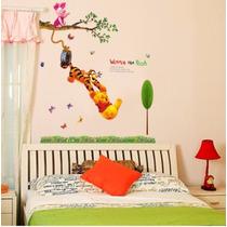 Vinyl Decorativo Winnie Poo Llanta *