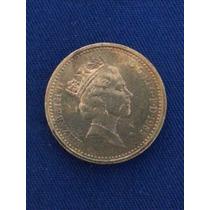 Moeda Da Inglaterra/1985 - One Pound (ref.03)