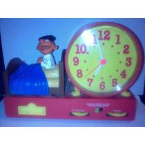 Ernie Enrique Plaza Sesamo Radio Reloj Despertador Antiguo
