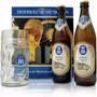 Kit Cerveja Alemã Hb Hofbrau - 2 Cervejas 500ml. + Caneca