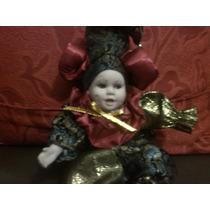 Boneco Pierrot Antigo.