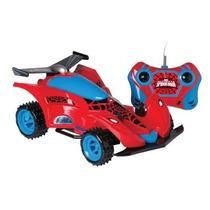 Carro De Controle Remoto Spider-man Spider Machine - Candide