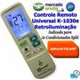 Controle Remoto Universal Ar Split Brastemp Clean Ative