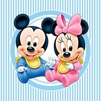 Baby Mickey Mouse Kit Imprimible Bebe Mickey Invitaciones