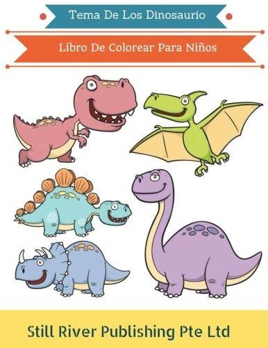 Libro : Tema De Los Dinosaurio: Libro De Colorear Para Ni... - $ 779 ...