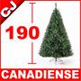 Arbol De Navidad 190 Verde Canadiense Pino Artificial Pachon