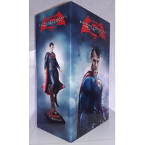 Batman Vs Superman Blu-ray + Dvd + Figura De Superman