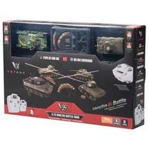 Par Tanques Guerra Control Remoto Type97/sherman