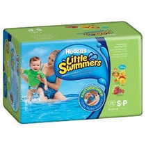Pañales Huggies Little Swimmers S Playa Pileta Agua