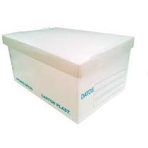 Paquete Con 10 Caja Archivo Muerto T/carta Plastico