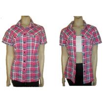 Camisas Cuadrillé Escocesa -manga Corta- Primavera /verano