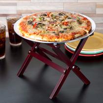 Tijeras Para Charola Para Pizza Mesa Botanera Madera