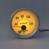 Medidor Temperatura Água Carro Motor Relógio Colorido 7cores