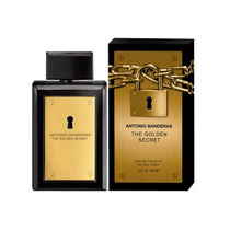 Perfume Black Seduction, Golden Secret De Antonio Bandera