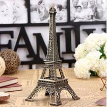 Torre Eiffel Em Miniatura Feito Em Metal 32 Cm - Luxo