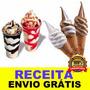 Receita De Calda De Sorvete Expresso Promoção + Frete Grátis