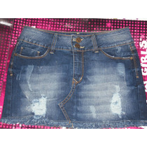 Saias Jeans Smack Girls Dois Modelos No Tamanho 38