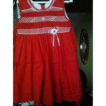 Lindo Vestido Rojo Navidad