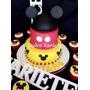 Torta Mickey, Minnie, Sapo Pepe, Jake El Pirata, Cars, Kitty