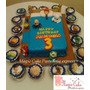 Hermosa Torta Toy Story + 15 Cupcakes A Solo S/. 170.00