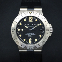 Bulgari Diagono Scuba - 38mm