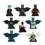 Batman Set Figuras Compatible Lego Guason Bane Joker Trajes