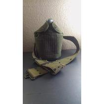 Cantimplora Miilitar P Agua Posible 1ra/2da Guerra Mundial