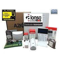 Kit Alarma A2k4 Ng Inalambrica Alonso A2k4ng Voice Control