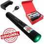 Laser Pointer Verde 98000mw Acende Fósforo C Chave Seg+forte