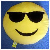 Peluche Cojín Emoji Whatsapp Gafas Obscuras Original Empaque