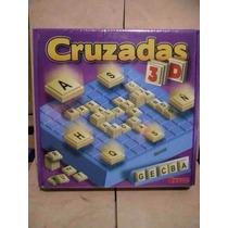 Juego De Mesa Palabras Cruzadas 3d Scrabble