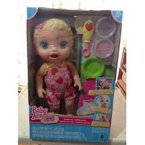 Baby Alive Bebe Hora De Comer, Súper Snacks Original Hasbro