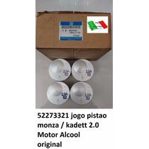 Jogo Pistao Monza / Kadett 2.0 Motor Alcool Std