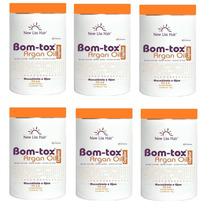 6 Botox Argan New Liss Hair 1kg 100% Liso Regenerar Nutri