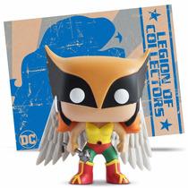 Funko Pop Legion Of Collector Women Of Dc Hawkgirl Pop Exclu