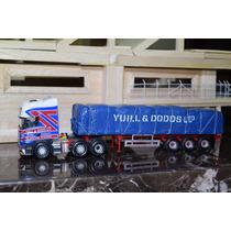 Corgi 1:50 Caminhão Scania + Carreta Carga Yuill & Dodds