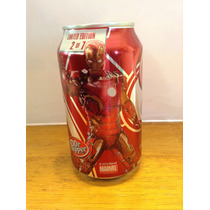 Dr Pepper Marvel Avengers Age Of Ultron Iron Man Exclusiva